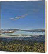 Upslope Flow Wood Print by Steven Richardson