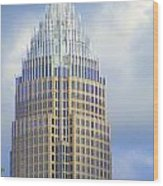 Uptown Charlotte 1 Wood Print by Randall Weidner
