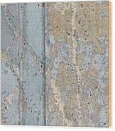 Urban Abstract Concrete 3 Wood Print