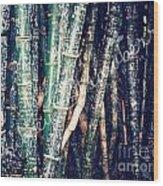Urban Bamboo Wood Print
