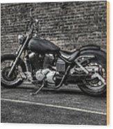 Urban Bike 001 Wood Print