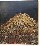 Urban Cross 2 Wood Print by James Brunker