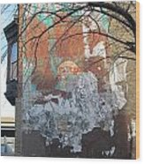 Urban Decay Mural Wall 4 Wood Print