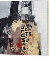 Urban Renewal Wood Print