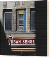 Urban Sense 1 Wood Print