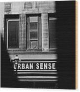 Urban Sense 1b Wood Print