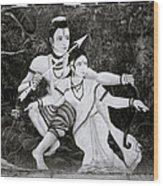 The Hindu Epic Wood Print