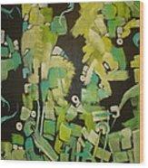 Urban Sprawl Wood Print