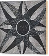 Ursa Major Iris Constellation Wood Print