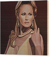Ursula Andress Wood Print