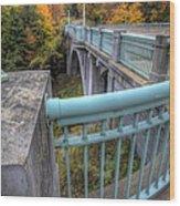 Us 62 At Mill Creek Park In Fall Wood Print