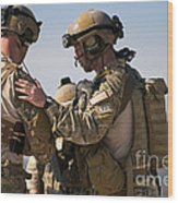 U.s. Air Force Pararescue Jumpers Wood Print