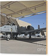 U.s. Air Force Pilot Performs Final Wood Print