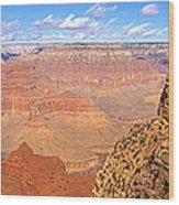 Us, Arizona, Grand Canyon, View Wood Print