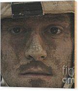 U.s. Army Infantryman Wood Print
