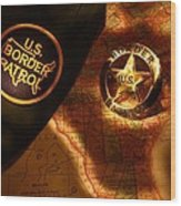 Us Border Patrol Wood Print