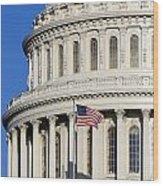 Us Capitol Building Wood Print