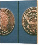 U.s. Currency, 1796 Wood Print