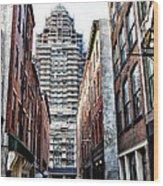 Us Customs House Philadelphia Wood Print