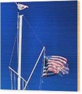 Us Flag 19749 Wood Print