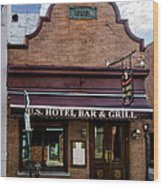 Us Hotel Bar And Grill - Manayunk  Wood Print