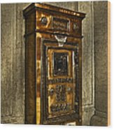 Us Mail Letter Box Wood Print