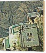 Us Mail Wood Print