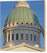 Us, Missouri, St. Louis, Courthouse Wood Print
