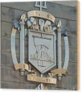 Us Naval Academy Insignia Wood Print
