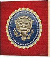 Presidential Service Badge - P S B Wood Print