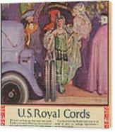 Us Royal Cords 1924 1920s Usa Cc Cars Wood Print