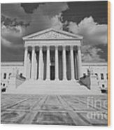 Us Supreme Court Wood Print