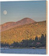 Usa, California, Big Bear Wood Print