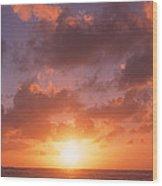 Usa, California, Pillar Point, View Wood Print