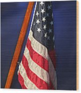 Usa Flags 08 Wood Print