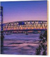 Usa, Jacksonville, Florida Wood Print