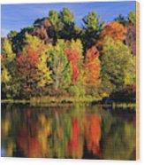 Usa, New Hampshire, Moultonborough Wood Print