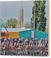 Usa Pro Challenge Bike Race Montrose Colorado Wood Print