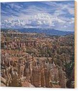 Usa, Utah, Bryce Canyon National Park Wood Print by Tips Images