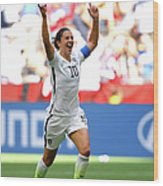 Usa V Japan Final - Fifa Womens World Wood Print