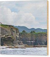Usa Washington State Sea Kayakers Wood Print