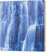 Usa, Wyoming, Yellowstone Park Wood Print
