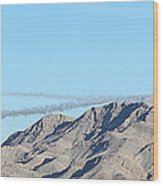 Usaf Thunderbirds Precision Flying Two Wood Print