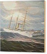 Uscgc Alexander Hamilton Wood Print
