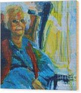 Use 2b So Ez - Alzheimer's Perch - The Long Good-bye Wood Print