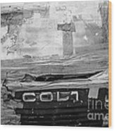Used Car Abstract V Wood Print by Dean Harte