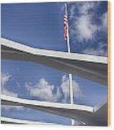 Uss Arizona Memorial Wood Print