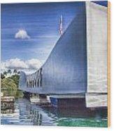 Uss Arizona Memorial- Pearl Harbor Wood Print