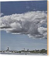 Uss Arizona Memorial-pearl Harbor V2 Wood Print