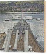 Uss Arizona Memorial-pearl Harbor V4 Wood Print